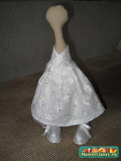 Платье для снежки своими руками