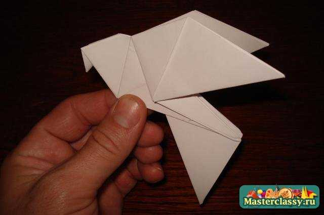 Оригами - голуби.