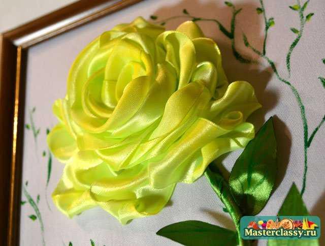 В этом мастер классе я покажу, как сделать розу из лент в вышивке.  То есть, как вышить розу.  Вышивала я на ткани...