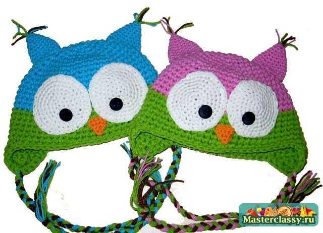 Вязание шапочек для детей