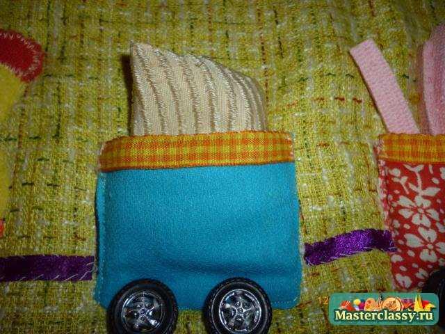 Мастер класс развивающий коврик для малышей своими руками