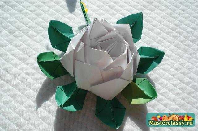 Оригами цветы.
