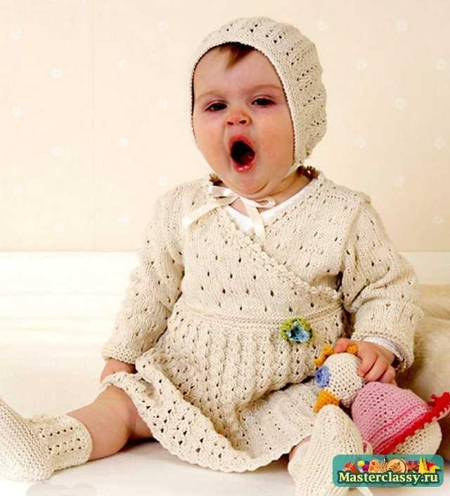 Вязание. Платья для детей