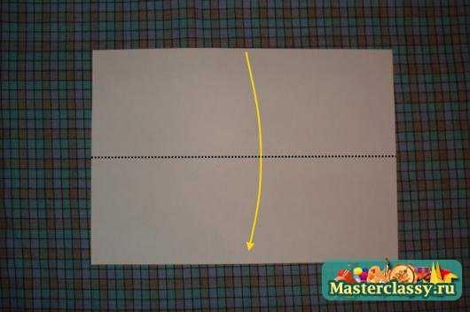 Оригами Рамка для фото Мастер
