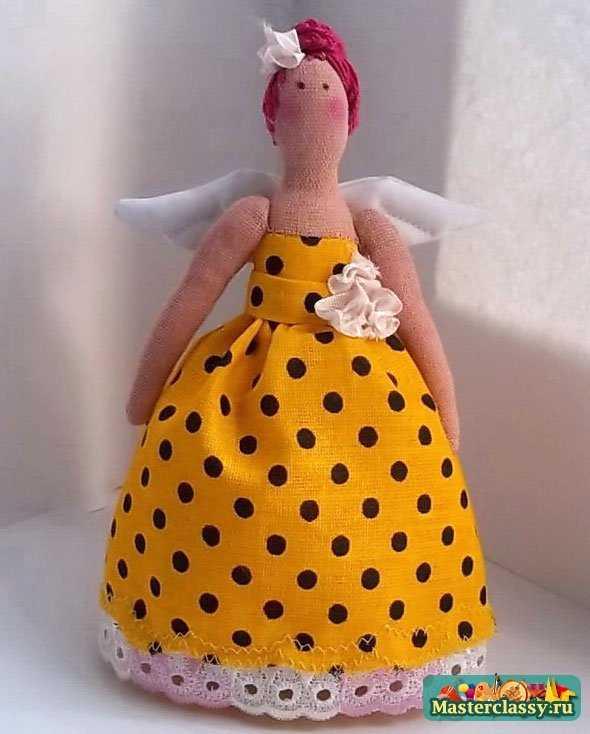 Кукла Тильда Фея Крестная Мастер класс