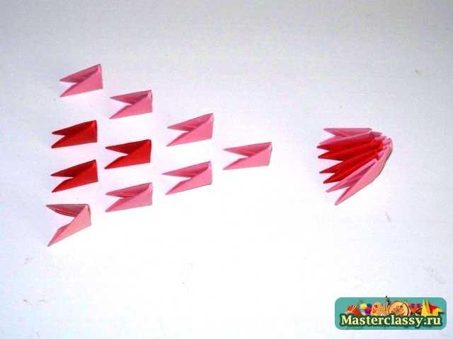 Модульное оригами Челюсть