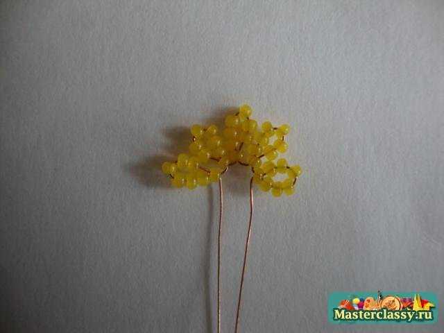 бисероплетение цветы пошагово - Это бисер!