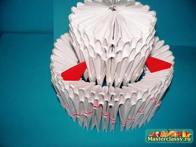 Сборка Торта оригами.