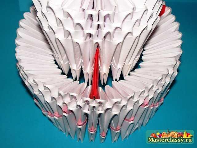 Сборка Торта оригами