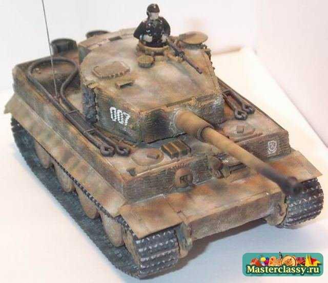 Как сделать из бумаги танк