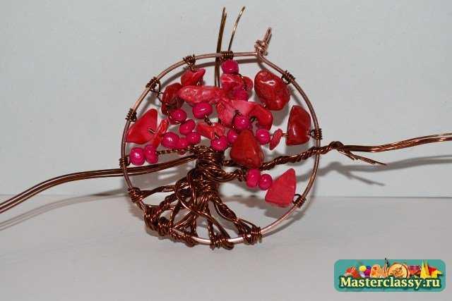 Мастер класс по изготовлению кулона «Коралловое дерево»