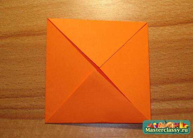 Простое оригами с пошаговым фото - Шитье Master classy - мастер классы для вас