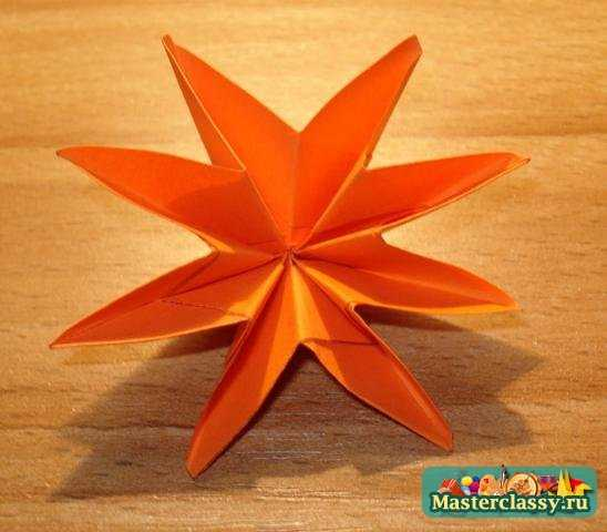 Оригами Цветок жасмина Мастер