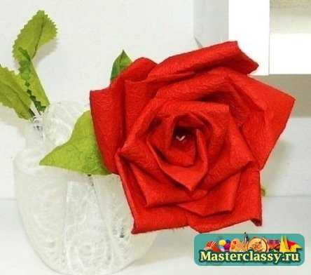 Розы из бумаги схемы