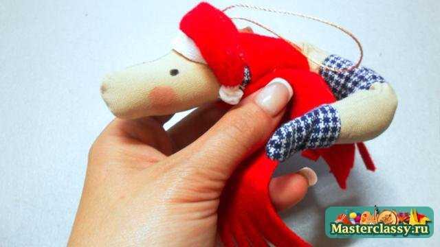 Как сделать новогодние игрушки поэтапно фото