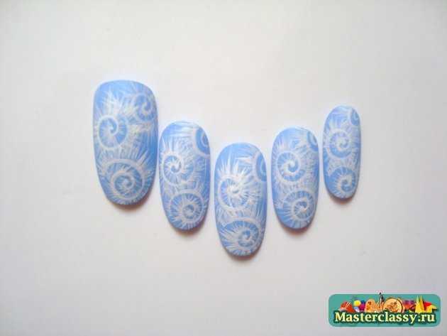 маникюр рисунки на ногтях