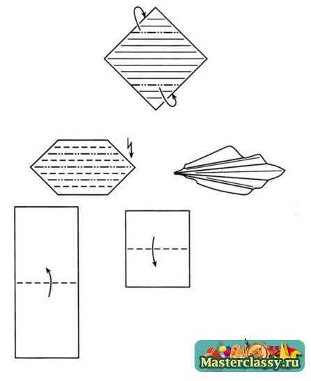 «Яблоко» оригами из бумаги
