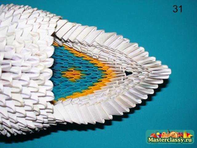 Модульное оригами.  Индийский слон.  Мастер-класс с пошаговыми фото.