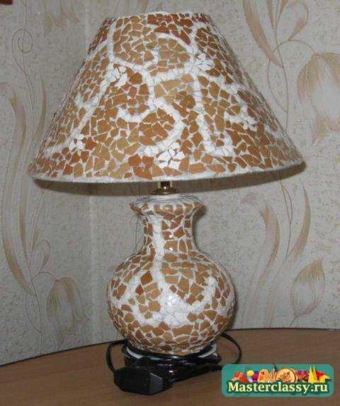 Из старой лампы – новую! Мастер класс с пошаговыми фото