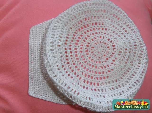 Вязание крючком косынку для дете