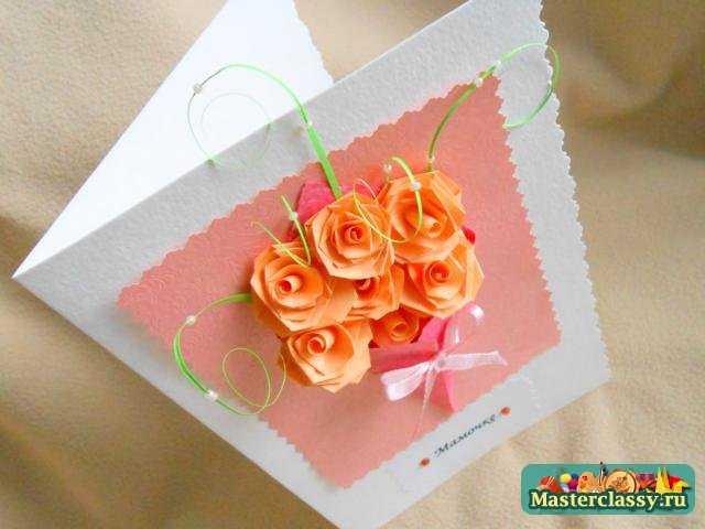 Подарки на день матери своими руками