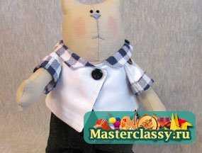Куклы Тильда - улитка, кот и кролик