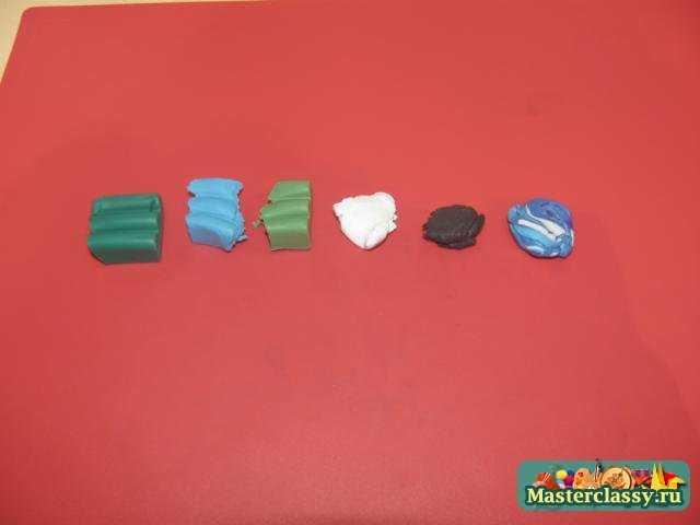 Серьги и кольцо Розы из полимерной глины Мастер класс с пошаговыми фото.