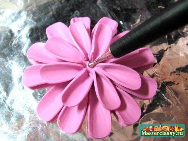Цветы из больших шаров мастер класс с пошаговым