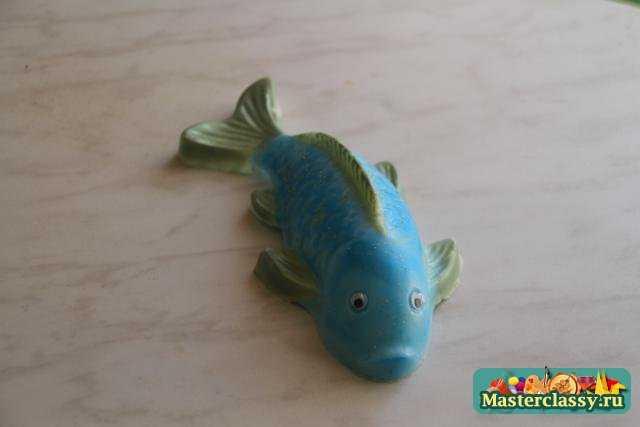 Мастер класс по мыловарению. Рыбка