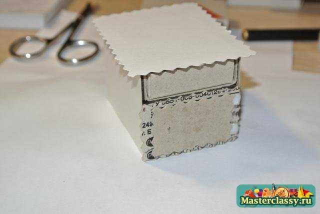 Как сделать тумбочку из спичечных коробков своими руками 35
