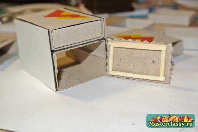 Поделки из спичечных коробков.