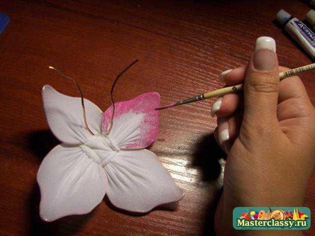 Цветы из капрона своими руками мастер класс для начинающих 71