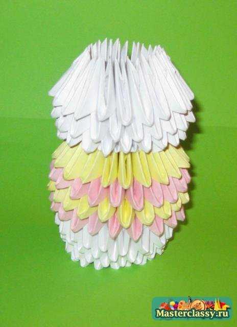 Оригами. Зайка в юбочке. Мастер класс с пошаговыми фото