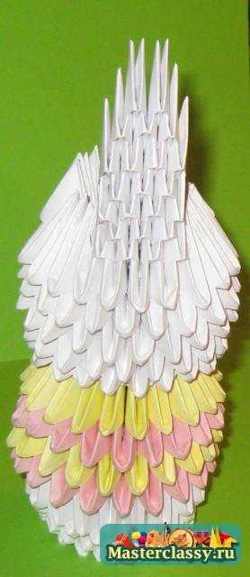 Оригами. Зайка в юбочке.
