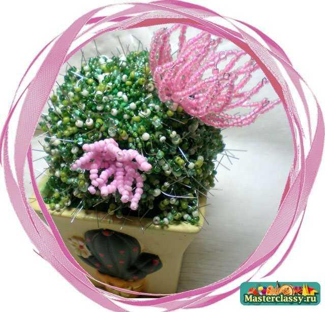 Схемы цветов из бисера