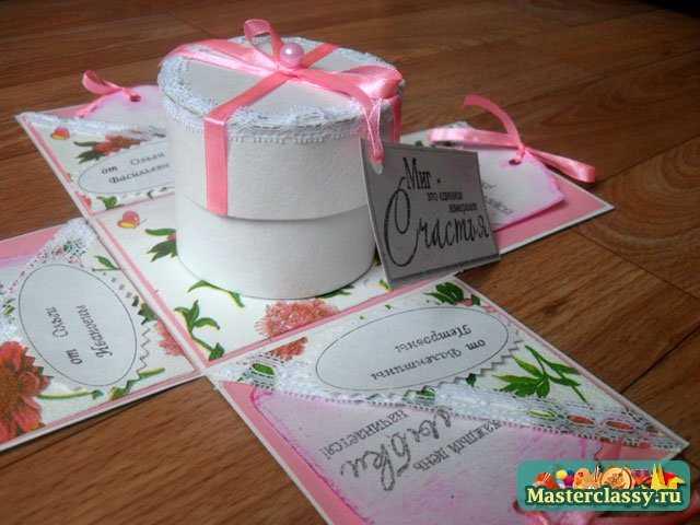 Подарок своими руками коробка с сюрпризом