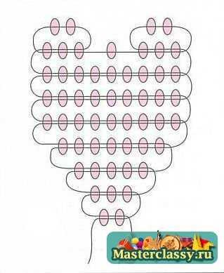 Схемы плетения цветов из бисера.