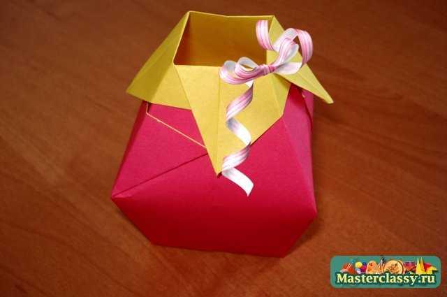 Оригами «Ваза».