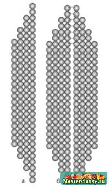 Схемы подснежника из бисера.