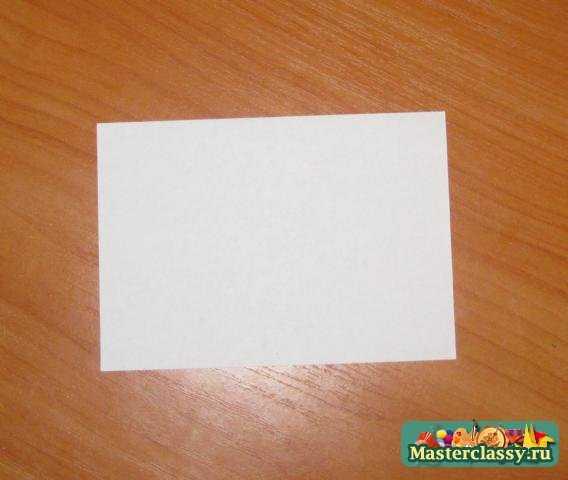 Карандаш. Модульное оригами.
