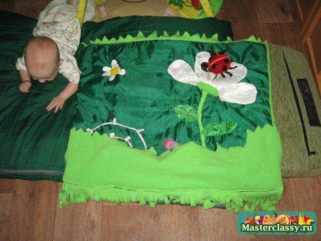 Развивающий коврик-плед На