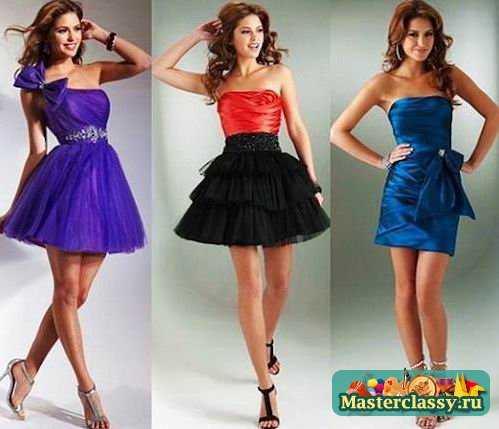 Как сшить Как сделать Пошив платьев своими