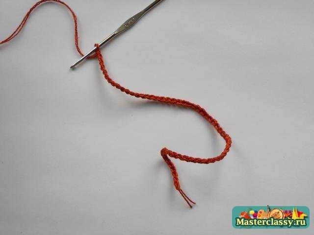 Вязаная змея крючком на Новый год 2013. Мастер класс с пошаговыми фото