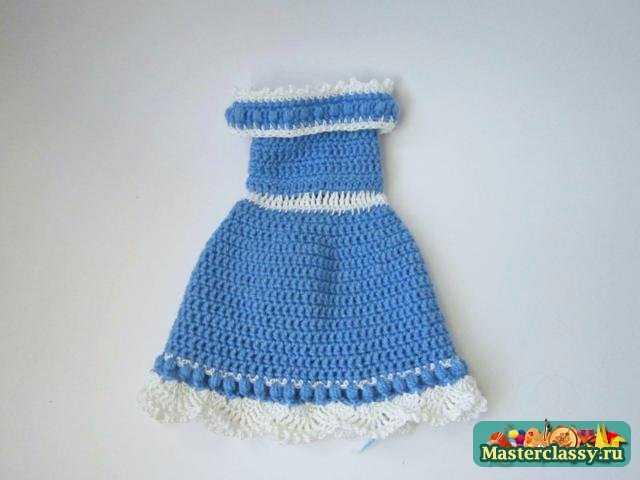 Как научится вязать платья для кукол