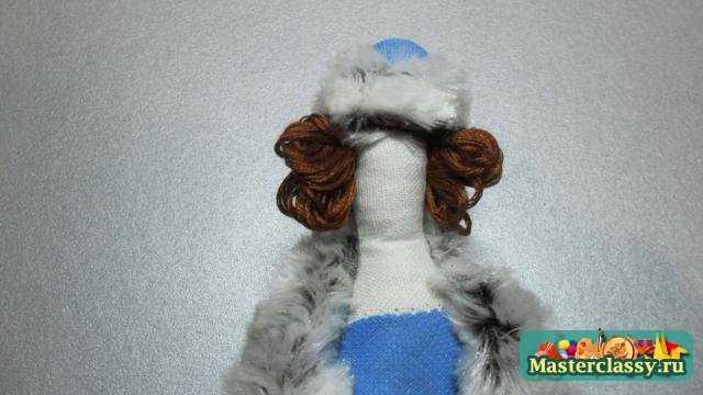 Снегурочка - Тильда. Мастер класс с пошаговыми фото