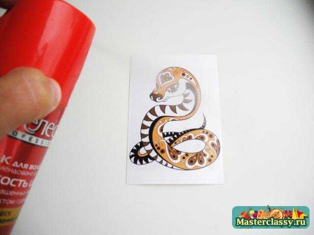 Декупаж 2013 бутылки со змеей. Мастер класс с пошаговыми фото