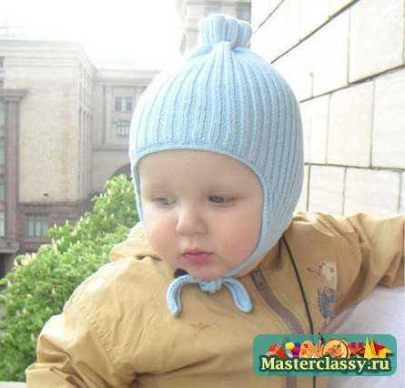 модные шапки схемы вязания