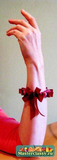 Браслет своими руками Радуга и пурпур. Мастер класс с пошаговыми фото