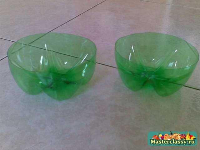 Поделки для сада из пластиковых бутылок. Царевна-лягушка