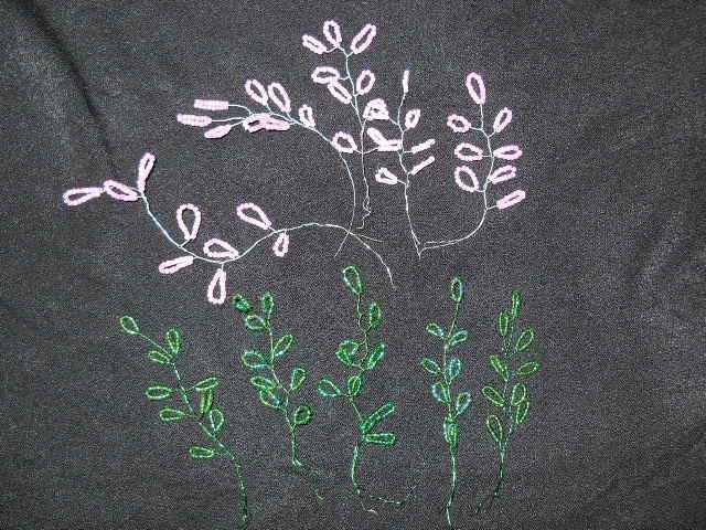 Бисероплетение деревьев.  Цветущее.  Мастер - класс с пошаговыми фото.